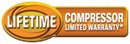 Lifetime Limited Compressor Warranty