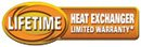 Lifetime Limited Heat Exchanger Warranty